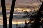 Sunrise in windy Cape Vidal