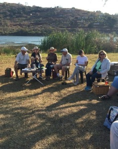 Braai time at eNanda Adventures Picnic ground