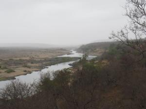 North of Olifants camp along the S44