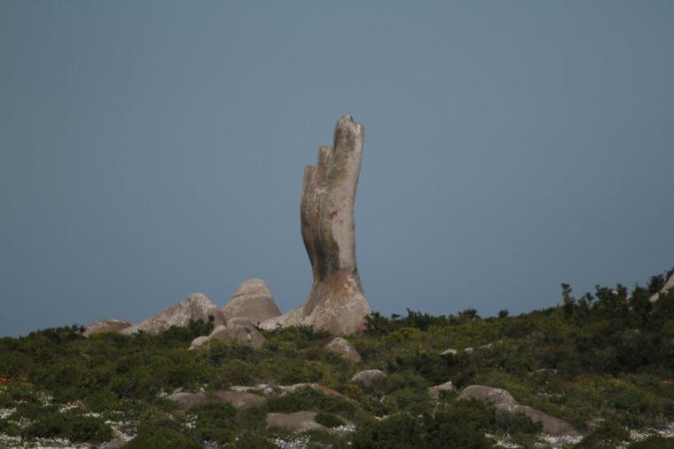 Postberg Rock Formation